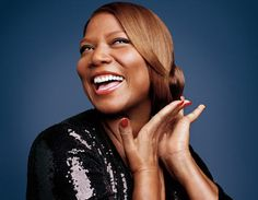 Queen Latifah - celebrity smile
