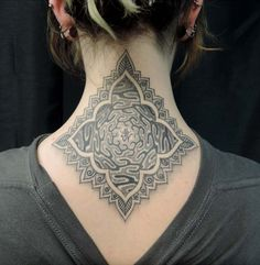 nape tattoos - Google Search