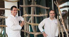 Ramón Freixa y Victor Fernandez - Restaurante Erre de Ramón Freixa - Hotel Las Américas Resort, Spa & Centro de Convenciones - Cartagena, Colombia