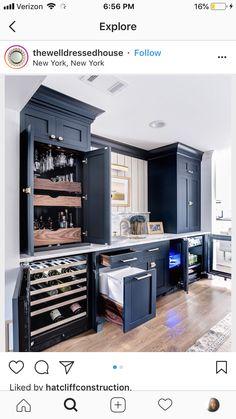 Trendy Home Bar Area Ideas Built Ins Ideas Wet Bar Basement, Basement Bar Designs, Home Bar Designs, Basement Kitchen, Basement Layout, Basement Laundry, Walkout Basement, Basement Dry Bar Ideas, Kitchen Wet Bar