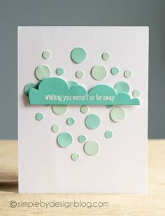 Confetti Cloud! Could totally see something like this with our Oh Happy Day set