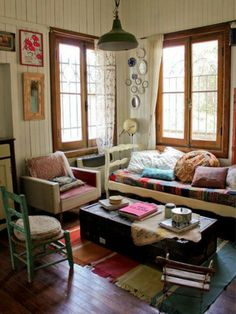 Cozy home anthropologie pintowin Bohemian Living RoomsColorful