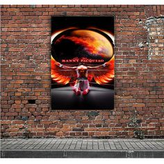 MANNY PACQUIAO WINGS ARTWORK POSTERS