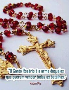 <p></p><p>O Santo Rosário é a arma daqueles que querem vencer todas as batalhas. (Padre Pio)</p>