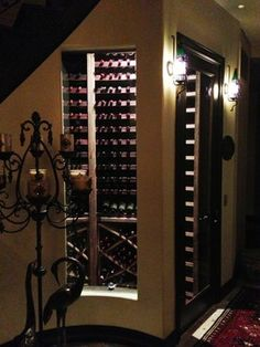 Chino, California Wine Cellar Designed By Vintage Cellars