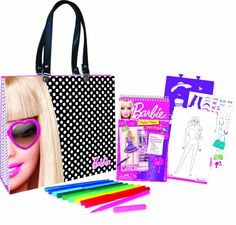 Barbie Artist Tote Set Only $11.99! (reg. $24.99) http://becomeacouponqueen.com