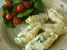 Crab and Cheese Stuffed Shells
