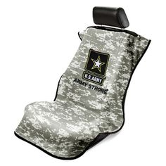 NEW Universal Vehicle Interior Camo U.S. ARMY STRONG Seat Towel Armour Cover #Mopar