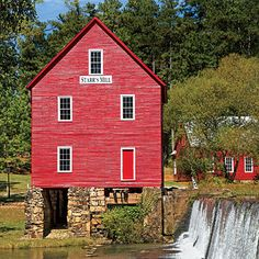 Senoia, Georgia | Incorporated in 1866 as a railroad town, Senoia is so picture-perfect, Hollywood couldn't design it better. | SouthernLiving.com
