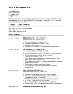 Openoffice Cover Letter Template Resume Templates Resume Template Examples Resume Design Template