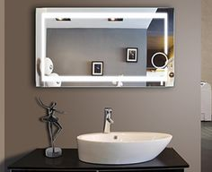 Large Bathroom Mirrors for Sale . Large Bathroom Mirrors for Sale . Gold Hardware Long Vertical Symmetric Mirrors In 2019 Backlit Bathroom Mirror, Lighted Vanity Mirror, Bathroom Mirror Cabinet, Led Mirror, Bathroom Light Fixtures, Mirror Cabinets, Mirror With Lights, Vanity Mirrors, Wall Mirrors
