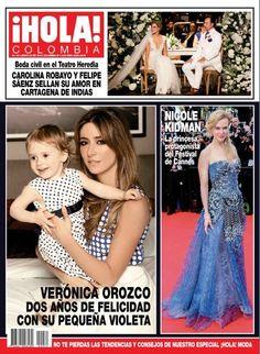 revista hola colombia nicole kidman la princesa de canes veronica orozco...