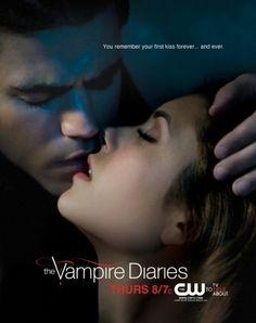 the vampire diaries season 1 posters | stefan and elena promo poster - The Vampire Diaries Photo (8073745 ...