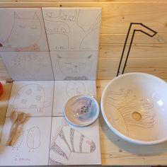 Matrioska#9 spegne le luci... Ma gli interni Ramina rimangono vi aspettiamo con le nostre proposte d'arredo al lab... Contattateci per un appuntamento! Grazie a tutti per gli aiuti le visite e i complimenti #raminalab #ceramica #withlove #design #casa #home #homedecor #pottery #rimini #matrioskalabstore #piastrelle #lavabi #ceramics by raminalab