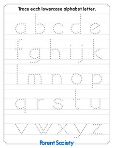 Help your kid learn how to write all the letters of the alphabet with these free educational printables. Head Start Preschool, Preschool Writing, Preschool Letters, Alphabet Activities, Free Preschool, Writing Activities, Free Printable Alphabet Worksheets, Writing Worksheets, Preschool Worksheets