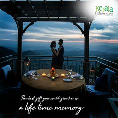 There is only one happiness in life-to love & to be loved. enjoy your time with your love in Kerala