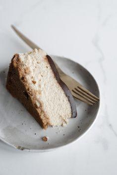 coffee creme fraiche cheesecake