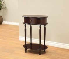 Amazon.com: Frenchi Home Furnishing Finish End Table/Side Table, Espresso: Kitchen & Dining
