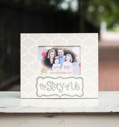 "Send ""The Story of US"" frame to your favorite sibling for National Sibling day today! April 10"