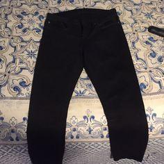 Helmut Lang black jeans Helmut Lang black skinny jeans  previously worn but no fading Helmut Lang Jeans Skinny