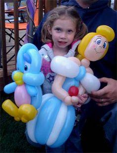 She's got a handful...wish I could make those!