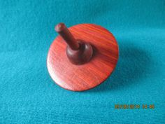 Handcrafted Beautiful Redheart Wooden Toy Top by SDIWoodworking, $7.00