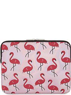 cef16e455a4 SKINNY DIP Flamingo metallic 13   laptop case