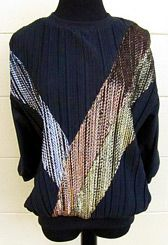 Vintage tri-color top from Moxie Vintage Apparel