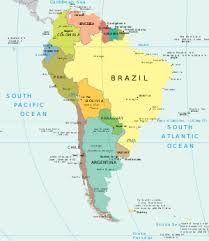 En Este Mapa Aprenderás A Situar Las Capitales De América Del Sur Mapa Politico America Del Sur Mapa Interactivo