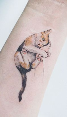 Beauty Lies In Simplicity: Minimalist Animal Tattoos Created At Sol Tattoo Parlo. - Beauty Lies In Simplicity: Minimalist Animal Tattoos Created At Sol Tattoo Parlor – super cute c - 4 Tattoo, Shape Tattoo, Lion Tattoo, Paint Tattoo, Tattoo Quotes, Love Tattoos, Body Art Tattoos, Small Tattoos, Cousin Tattoos