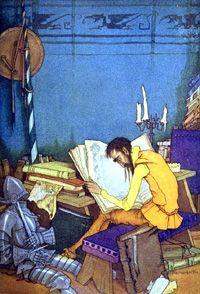 El quijote leyendo