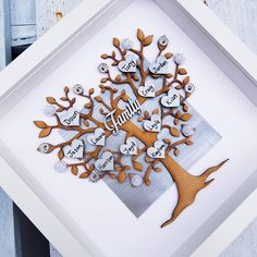 Family tree Frame | Family picture Gift | Grey home decor family decor | personalised hearts | Parent gift | Grandparent, mothers day Gift de Cherbearsgifts en Etsy https://www.etsy.com/es/listing/456784646/family-tree-frame-family-picture-gift