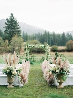 Photography: Rebecca Hollis Photography - rebeccahollis.com Floral Design: Greenwood Events - greenwood.events Event Planning + Design: Greenwood Events - greenwood.events   Read More on SMP: http://www.stylemepretty.com/2016/03/04/classic-romantic-backyard-wedding-in-montana/