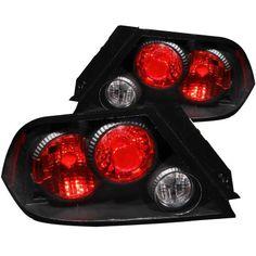 Mitsubishi Lancer 2002-2003 Black Custom Tail Lights