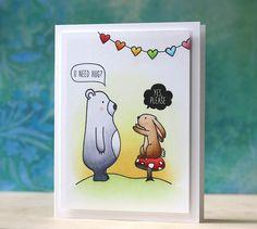 Laura Bassen: Mama Elephant Stamp Highlight - Small Talk