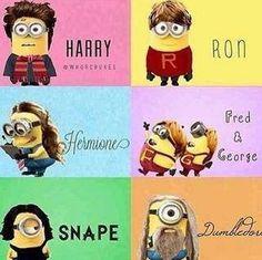 Harry Potter minions :D