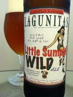 BrewChief.com Review of A Little Sumpin' Wild Ale (Lagunitas Brewing Co.) : As beer fans sample their way through the craft beer world, they start to assign labels to breweries. Some breweries are adored, some are respected, some are mysterious, rewarding, exciting, you name it. 'Exciting'' is the adjective I often use to describe the Lagunitas Brewing Company out of Petaluma, CA. I get all giddy like a school girl whenever I come across a new Lagunitas brew. They have continuously…