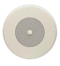 "8in Talkback Ceiling Speaker8"" Talkback Ceiling Speaker - Exceptional voice and music reproduction - Contains its own built-in amplifier - Flush mounted - 45 ohm speaker -Utilizes standard Cat 3, Cat"