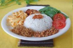 Resep Nasi Uduk Betawi Komplit Kebon Kacang Asli Spesial Resep Resep Masakan Indonesia Makanan Dan Minuman