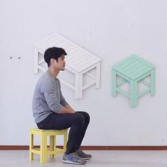 functional furniture / portable and colorful