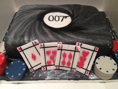 My take on a James Bond themed birthday cake