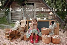 Ronda Wollard Originals » Blog - Farm Fresh Egg Stand Themed Mini Session (Summer 2012)