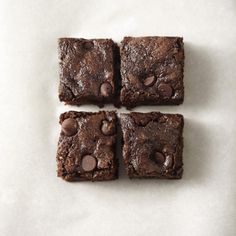 Wow these are delicious. I used semi-sweet instead of dark chocolate chips.   Whole-Wheat Dark Chocolate Zucchini Brownies
