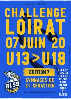 Challenge Loirat ALSS Basket 07 JUIN 2020 Baskets, Challenge, Comic Books, Comics, Studio, Cover, Gym, June, Hampers