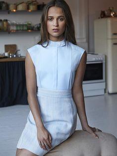 Alicia Vikander Style Files (Marie Claire Magazine)