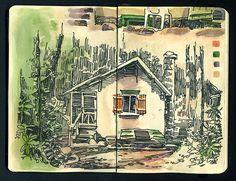 01 by Sketchbuch #art #journal #sketchbook