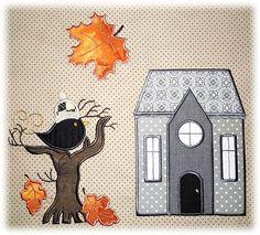 Stickbaer   Little Village Quilt Machine Embroidery Collection Block of the Month 5 Lottas Block
