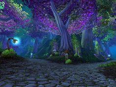 Ashenvale very purplely <3