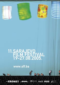 2005 Sarajevo Film Festival Coca Cola, Film Festival Poster, Design