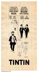 Tintin - Affiche pour l'Exposition Universelle de 1967 de Montréal